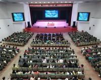 """新时代家庭教育的专题指导讲座""""平安家庭•和谐八桂""""公益巡讲活动走进灵川县妇联"""